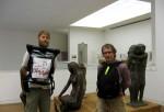 Med Ermindo på museum