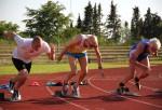 Anders' 100m start