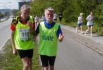 Michael og Bent på halv-marathon