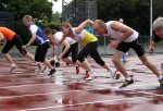 Lisbets 100m start