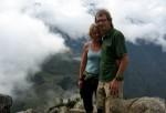 Macchu Picchu set ovenfra