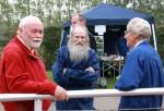 Ole, Kai og Gerly hepper